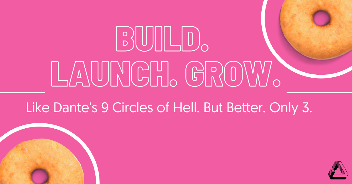 Build Launch Grow Resource Page Like Dante's 9 Circles of Hell. But Better. Only 3